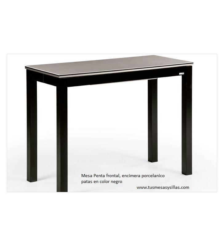 Mesa cocina extensible Penta Mesima estrecha