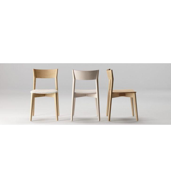 silla cocina y comedor en madera Miss ondarreta