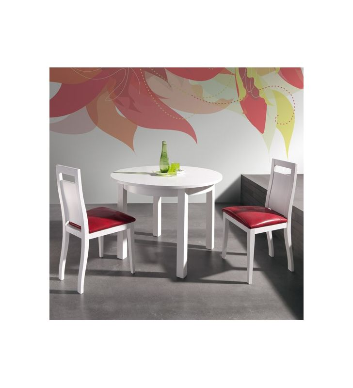 mesa comedor extensible redonda