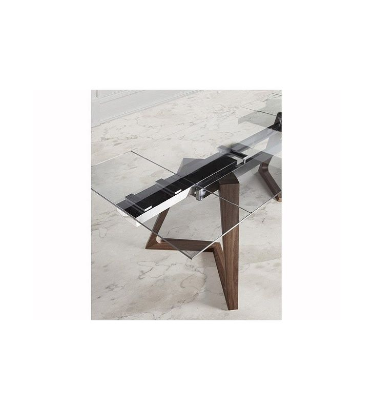 Mesa comedor diseño extensible Nil Nacher