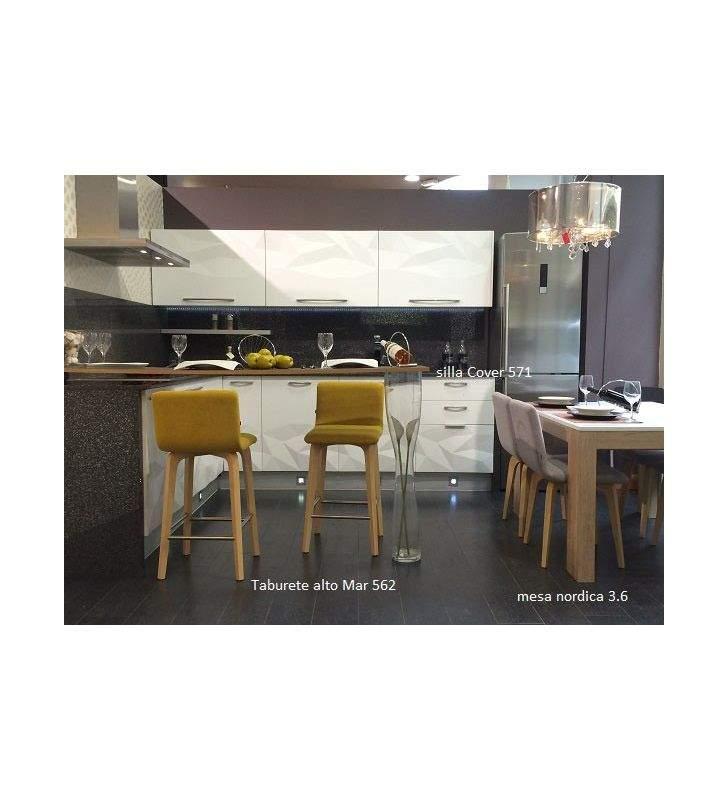 silla diseño nordico moderno Cover 561 almosa
