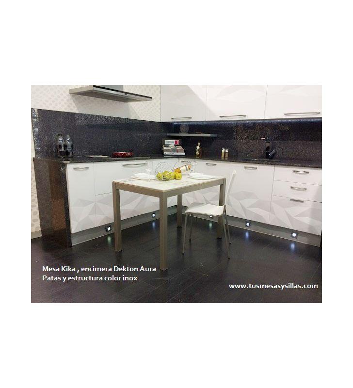 mesa Kika encimera Dekton para cocina Vimens