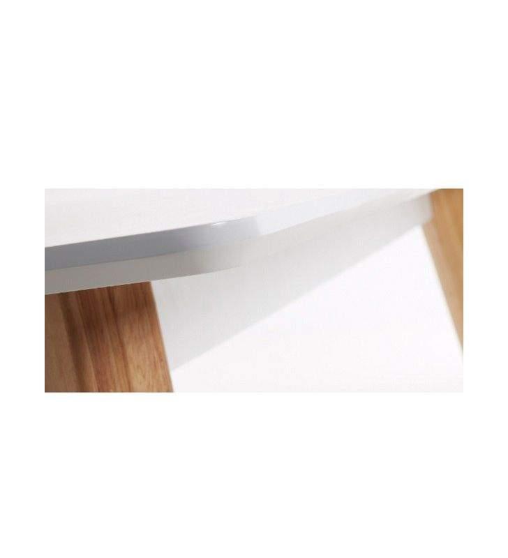 Mesa comedor estilo nordico extensible Meety 160x90