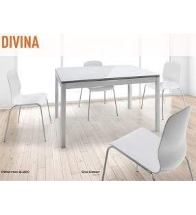 Mesa cocina Moderna Divina con esquinas redondeadas