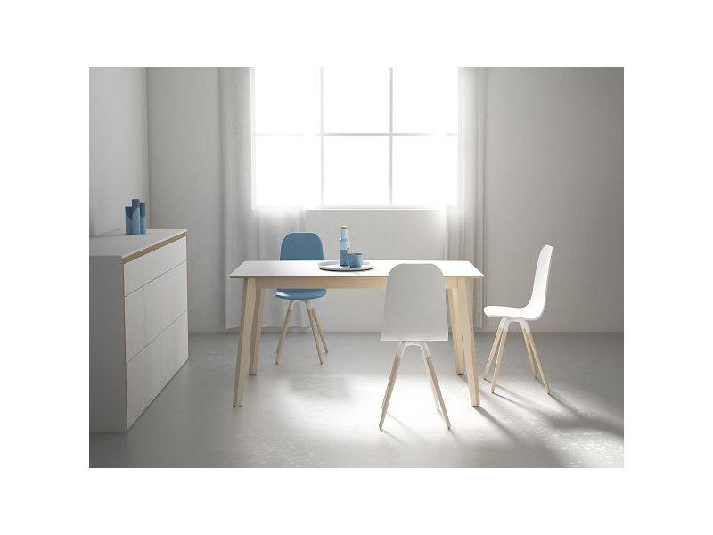mesa fija moderna Eclipse de cancio estilo nordico