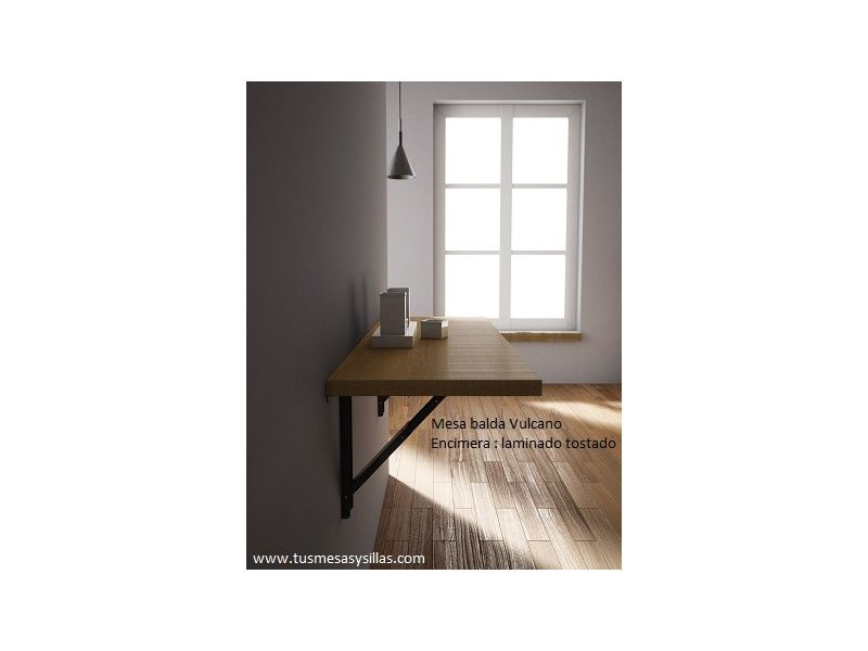 mesa balda abatible Vulcano automatica de pared