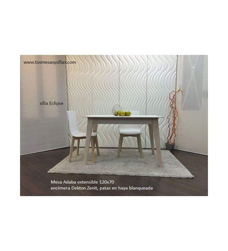 Mesa Adana extensible con encimera Dekton