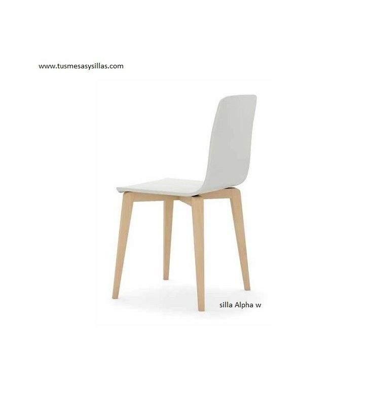 Silla estilo Nordico Alpha w entrega inmediata