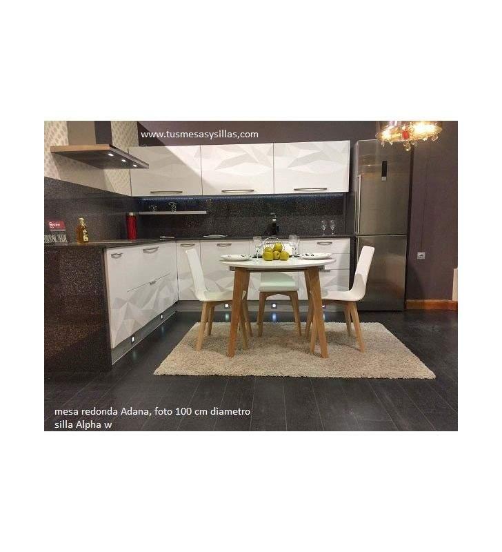 Table ronde extensible jusqu'à 3 mètres Adana