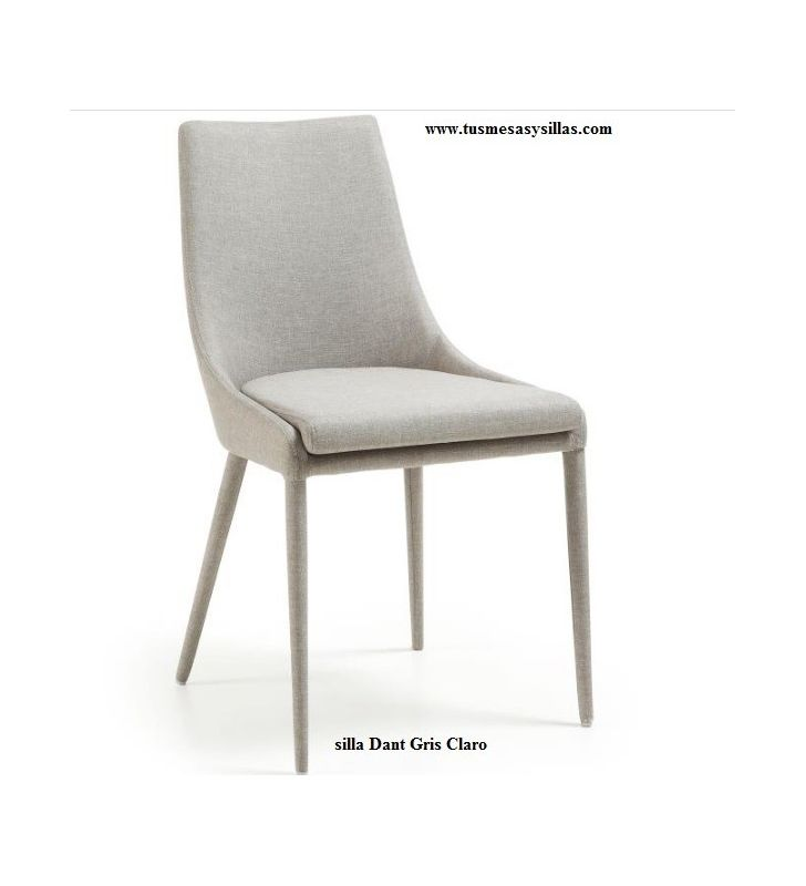silla comedor moderna tapizada Dant