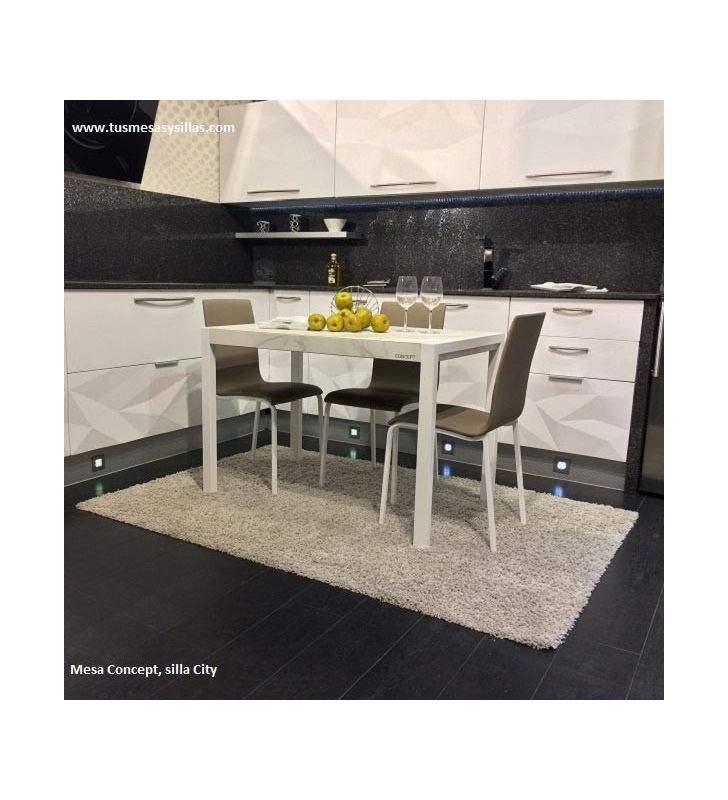 Mesa concept fija de cocina cancio