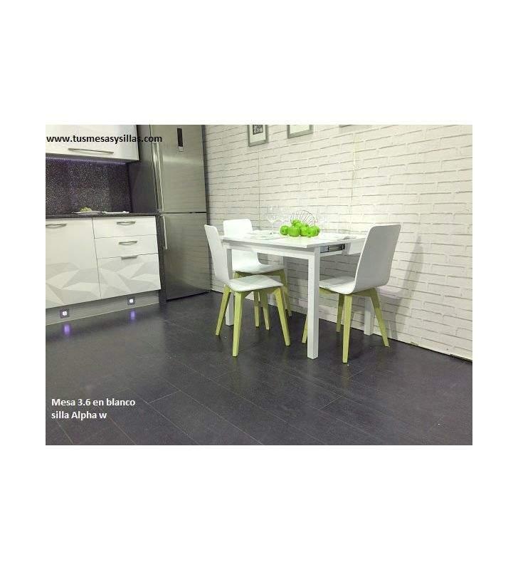 Mesa de cocina pequeña Nórdica 3.6