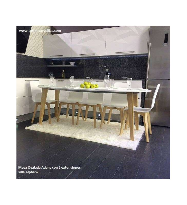 Table ovale extensible Adana