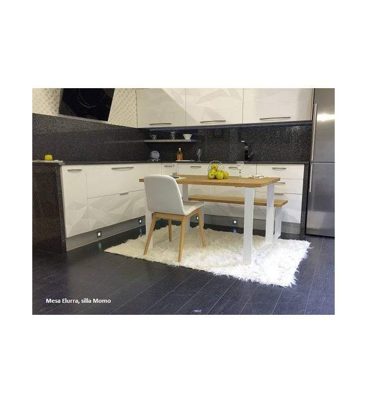 mesa Lurra en madera de roble