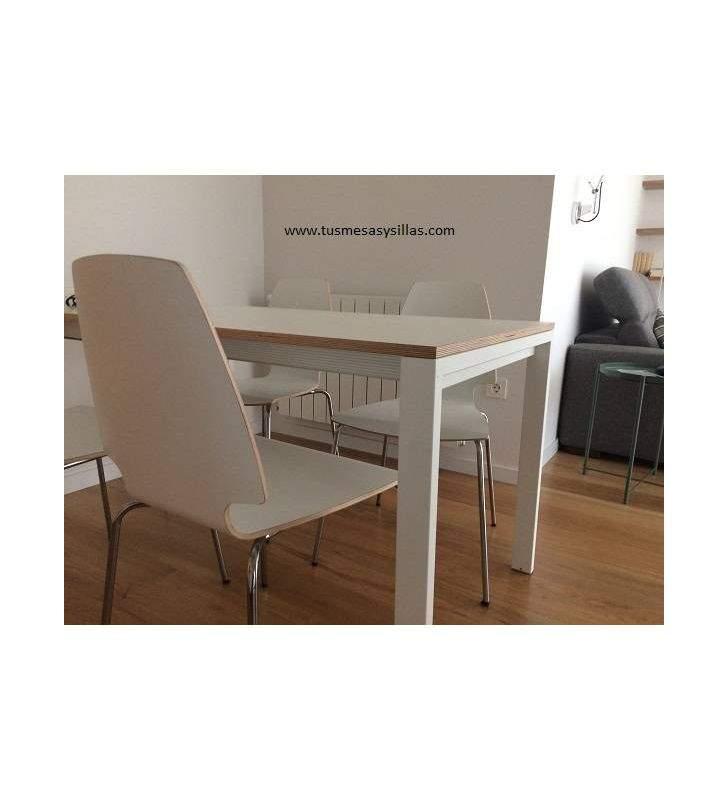 mesa cocina extensible Punto Ondarreta 100x60