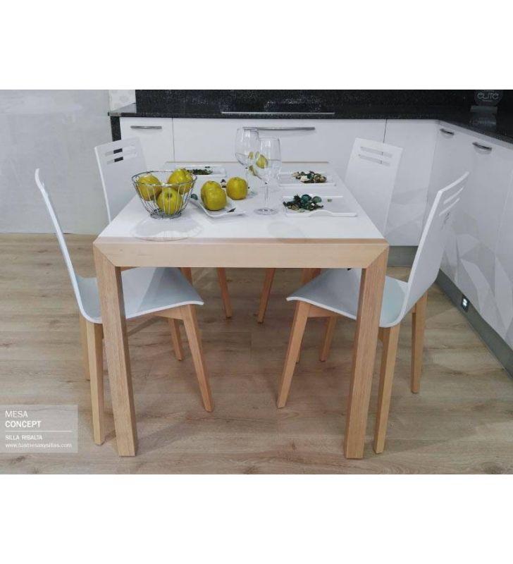 mesa-comedor-patas-madera-120x80
