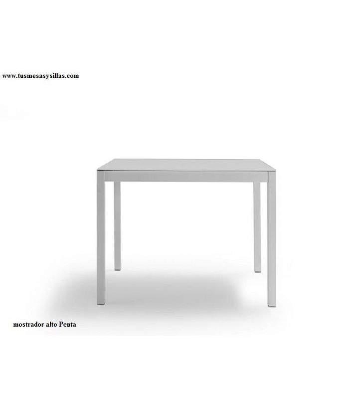 Mesa extensible con encimera en Dekton Penta