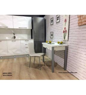Table Arpa petite de cuisine extensible avec tirroir