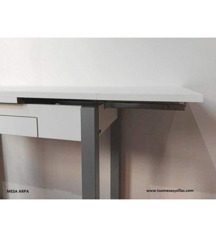 Table Arpa petite de cuisine extensible avec tirroir