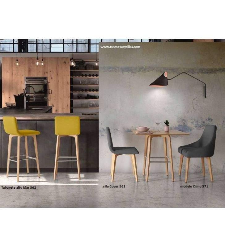 silla diseño nórdico moderno Cover 561 almosa