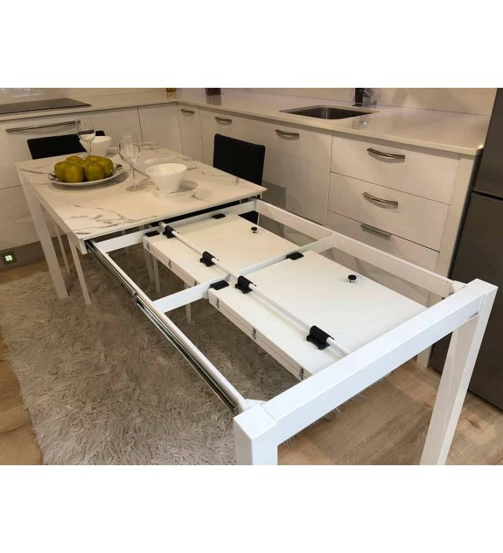 Table extensible Luna Dekton