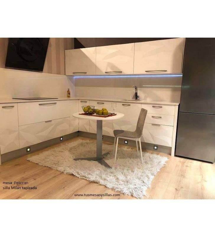 chaise de cuisine étroite Milan de disques