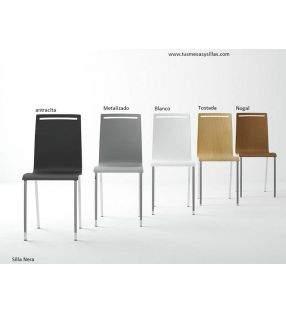 chaise-cuisine-étroite-nera
