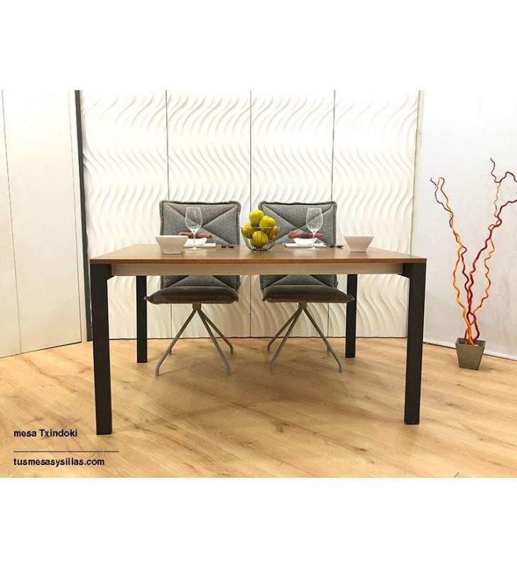 Mesa cocina comedor Punto Ondarreta 150 x 100 cm extensible y 140x100