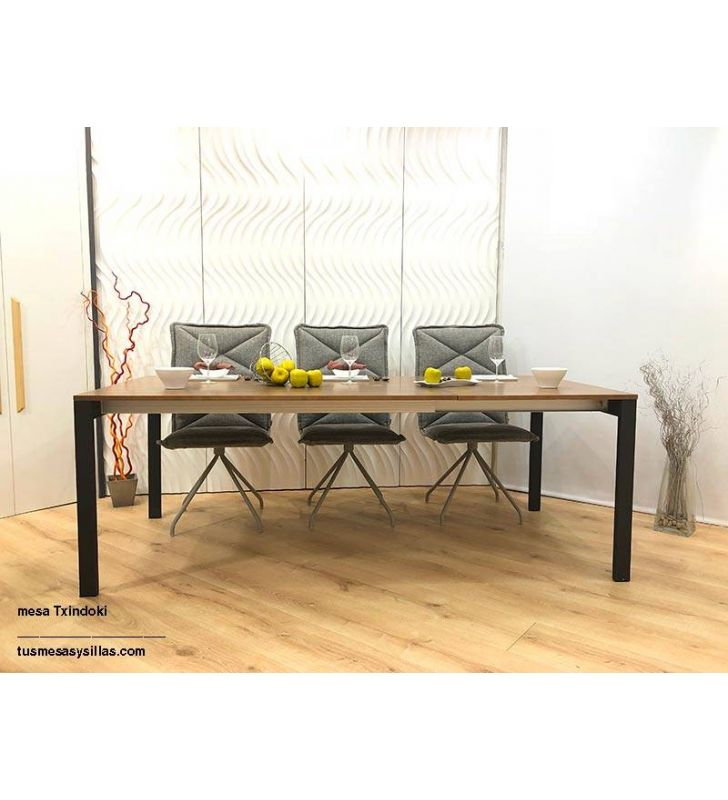 Mesa Punto extensible Ondarreta 140x80 cocina y comedor