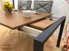 Mesa Punto extensible Ondarreta 150x60 cocina y comedor