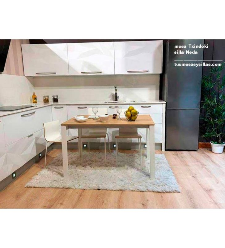 Table de cuisine Punto Extensible Ondarreta 130x70