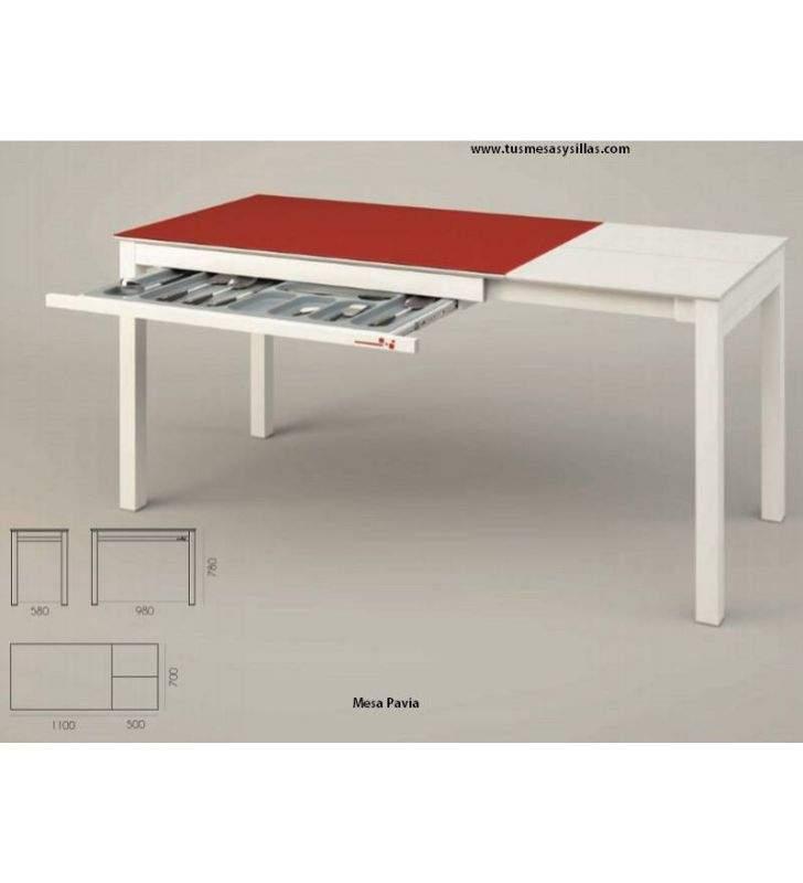 mesa-cocina-cajón-moderna