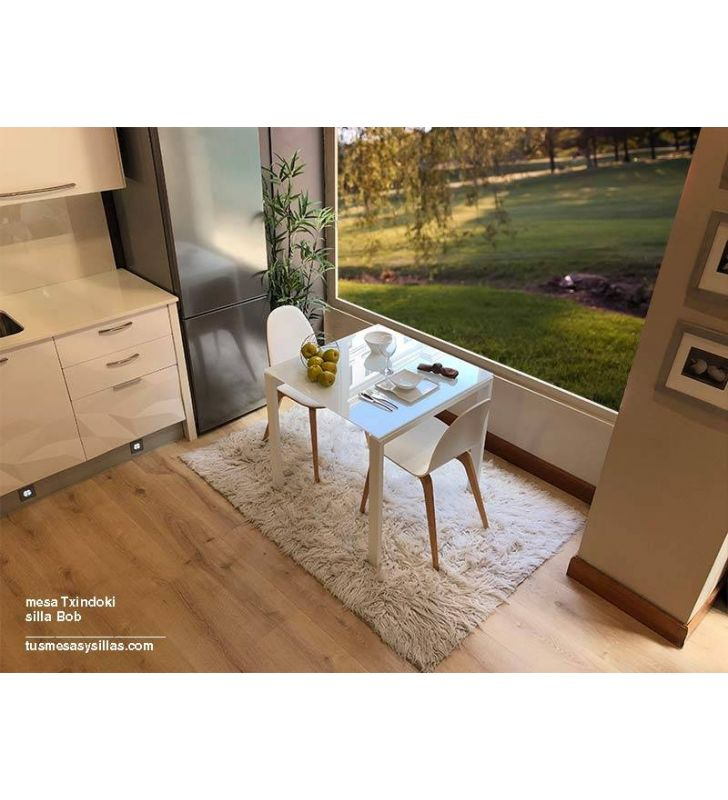 mesa cocina Punto 100x70 extensible de Ondarreta