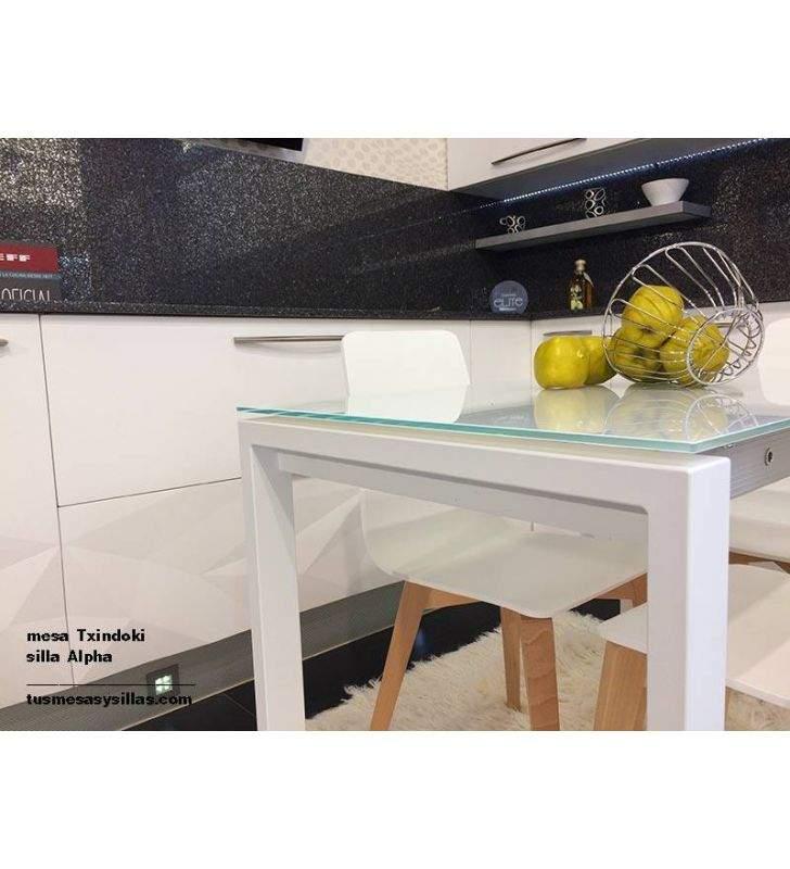 mesas-modernas-cristal-blanco