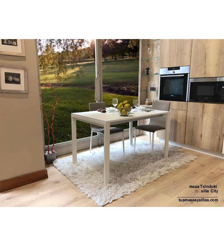 mesas-extensibles-blancas-100x70
