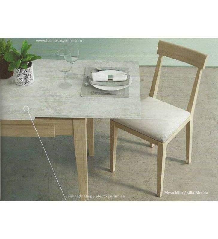Kiito mesa extensible de estilo comtemporaneo