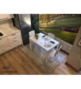 mesa-cocina-barata-blanca