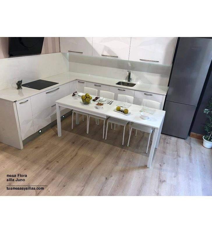 mesas-comedor-blancas-extensibles