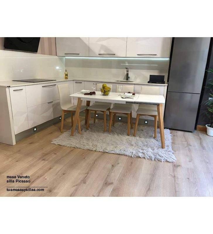 mesas-cocina-extensibles-blancas