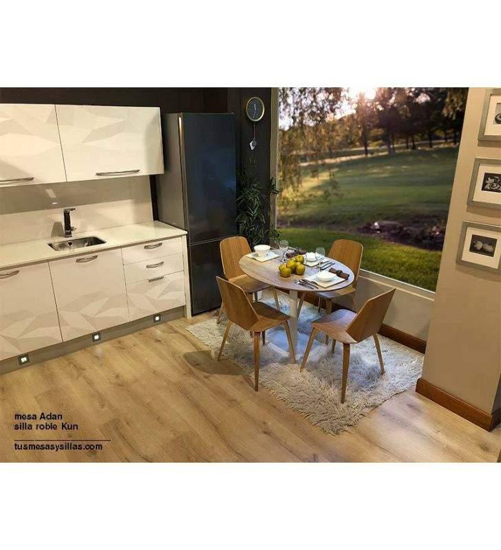 silla-cocina-madera-roble