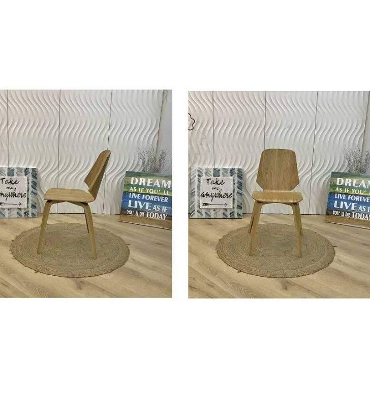 Silla Kun en madera de roble