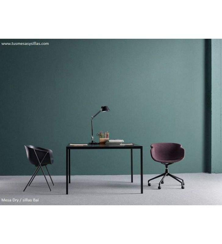 mesas-estrechas-negra-moderna