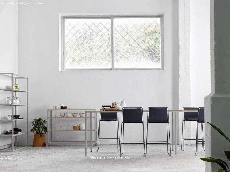 mesa-alta-estrecha-moderna