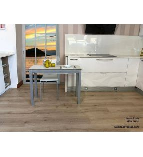 Table extensible Livia à Dekton.