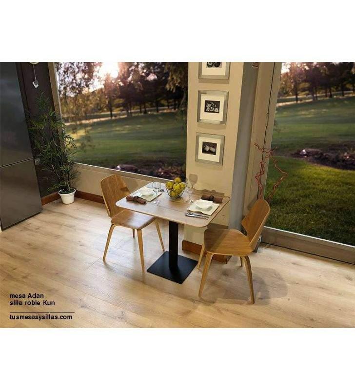 silla-moderna-cocina-roble
