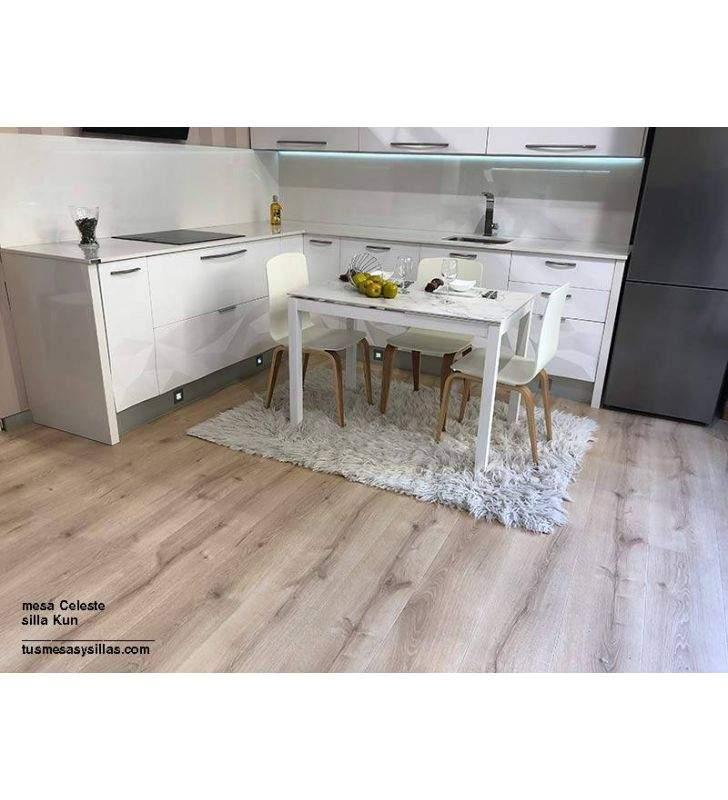 mesa-barata-blanca-cocina
