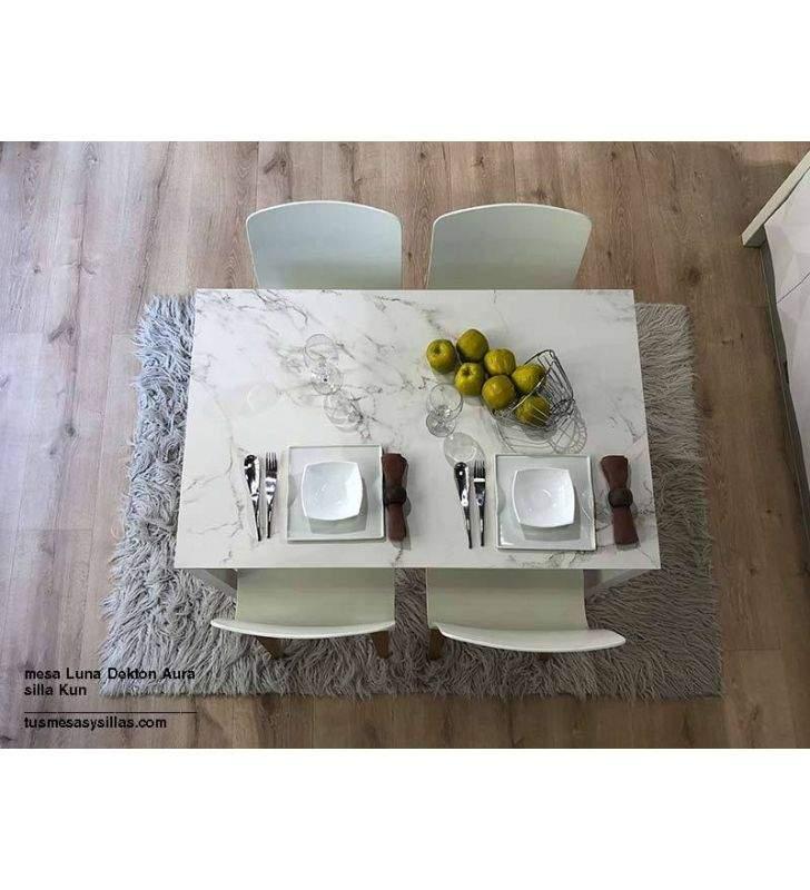 mesas-baratas-blancas-cocina