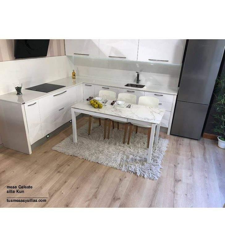 mesa-blanca-barata-cocina