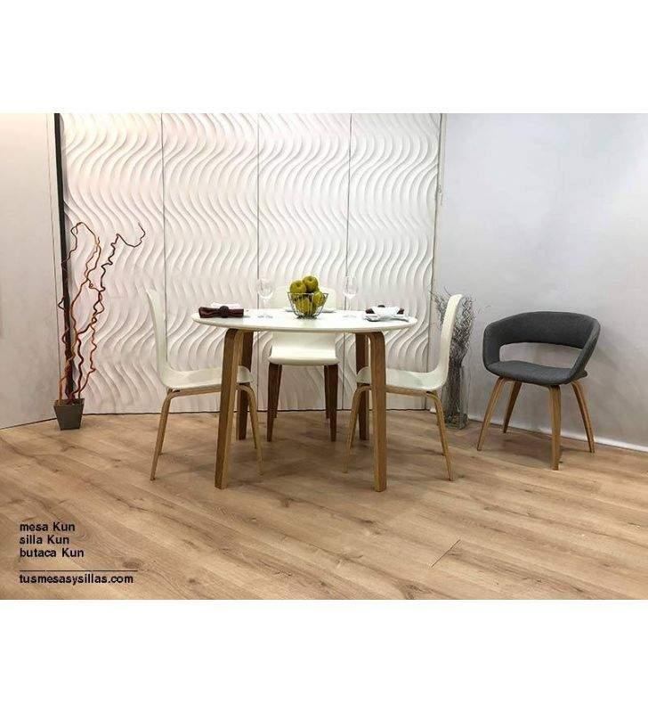 silla-blanca-roble-moderna
