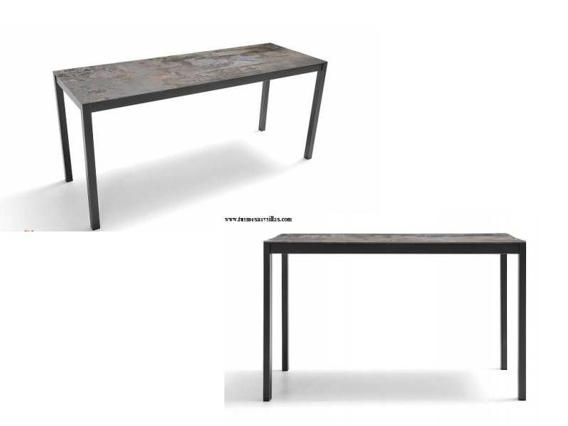 Table extensible Luna Dekton